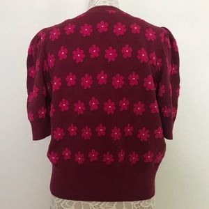 kate spade Sweaters - KATE SPADE Floral Marker Sweater Size L
